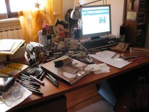 Morning desk